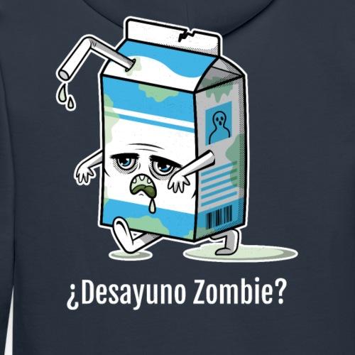 Desayuno Zombie - Sudadera con capucha premium para hombre