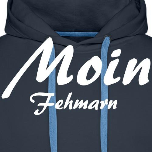 Moin Fehmarn - Männer Premium Hoodie