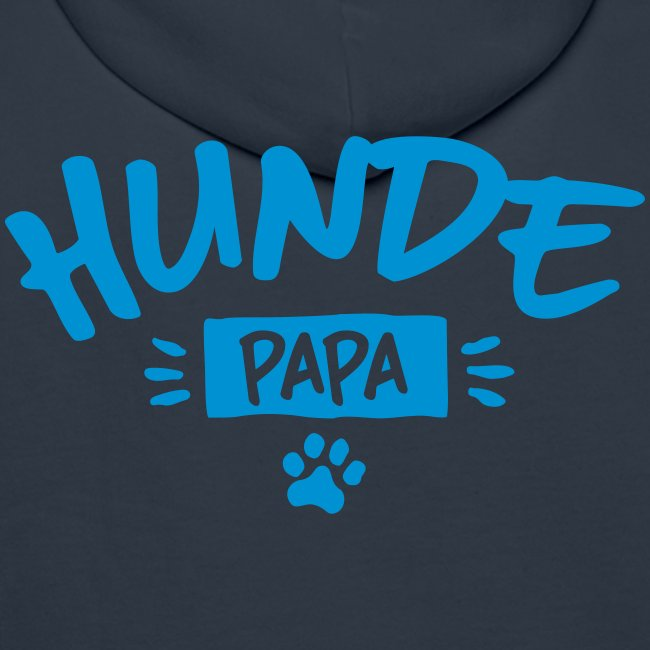 Vorschau: Hunde Papa - Männer Premium Hoodie