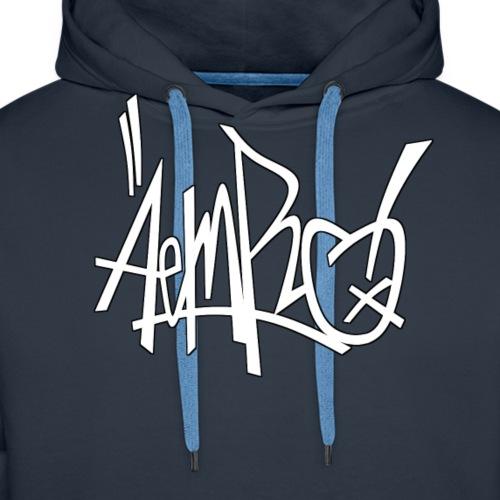 "Aemro ""Tag"" weiss - Männer Premium Hoodie"