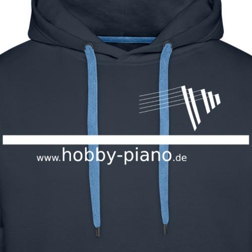 Hobby Piano SW - Männer Premium Hoodie