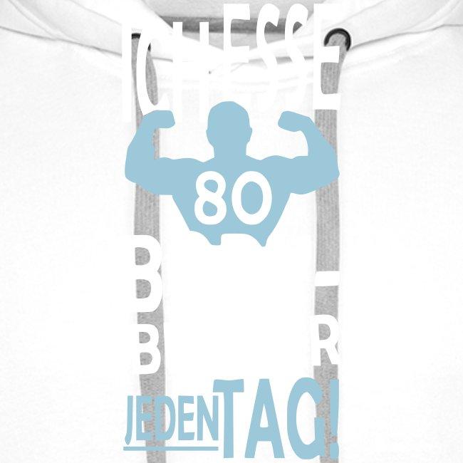 Ich esse 80 Bodybuilder jeden Tag!