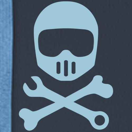 Motocross Skull - Männer Premium Hoodie