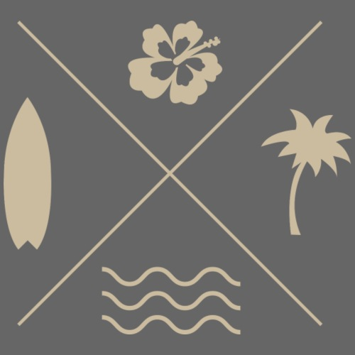 Surf X - Sudadera con capucha premium para hombre