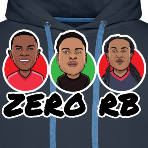 Zero Runningback - Männer Premium Hoodie