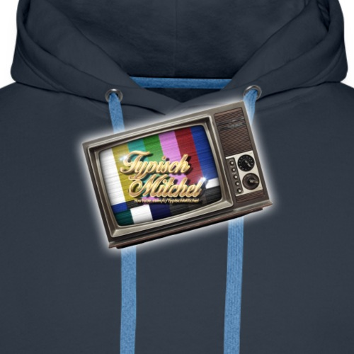 Volledig Logo png - Mannen Premium hoodie