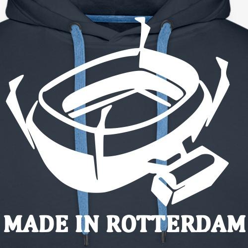 MADE IN ROTTERDAM - Mannen Premium hoodie