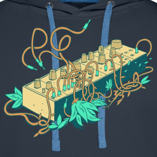 Modular Synthesizer - Turquoise - Männer Premium Hoodie