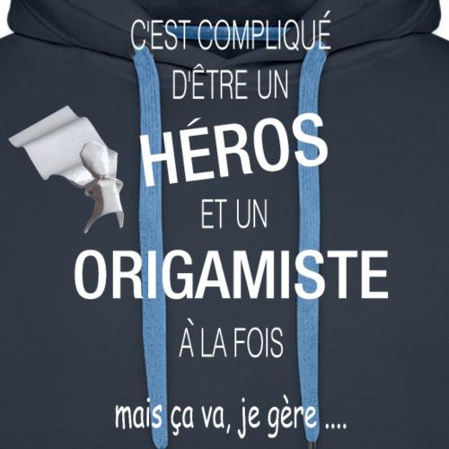 C'est compliqué d'être un héros et un origamiste