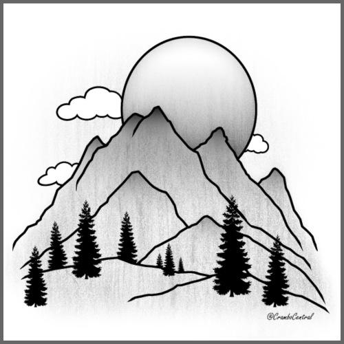 Mountains - Men's Premium Hoodie