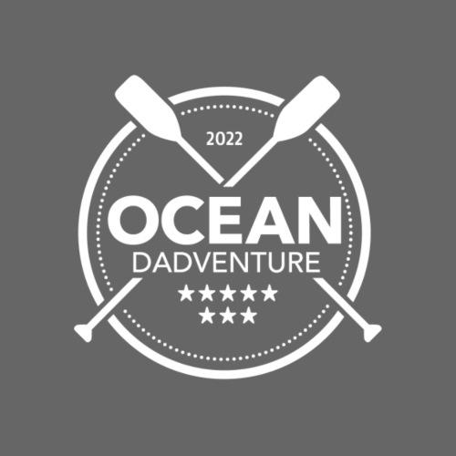 Ocean Dadventure Branded Merchandise - White Logo - Men's Premium Hoodie
