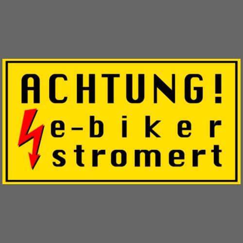 e-bike - Männer Premium Hoodie