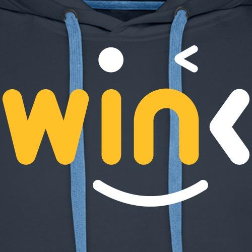 Wink Logo Merchandise - Men's Premium Hoodie
