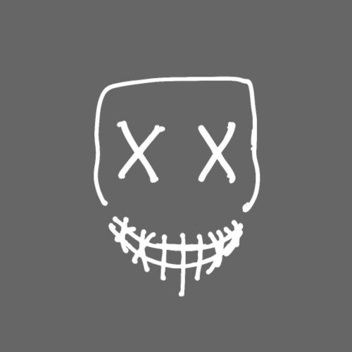 Skull Outline T-shirt - Sweat-shirt à capuche Premium pour hommes