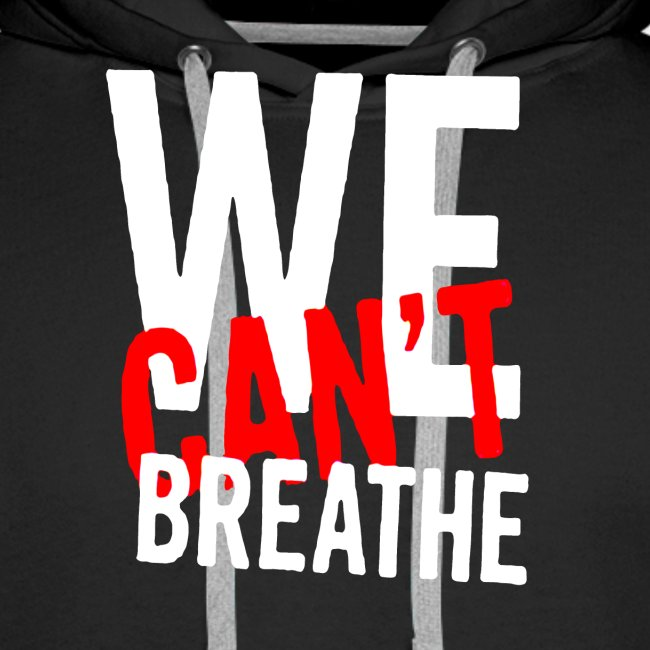 I Can't Breathe Men's T-Shirt Outdoor Sports Shirt