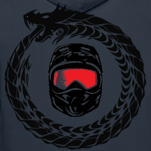 Logo + Schrift - Männer Premium Hoodie
