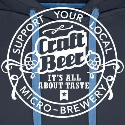 Craft Beer, Original - Männer Premium Hoodie