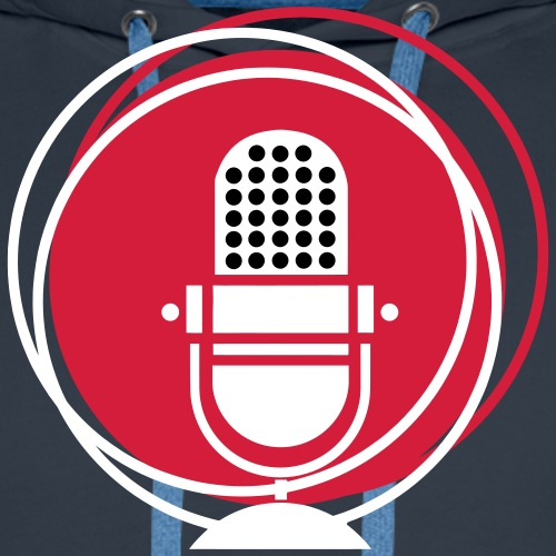 Großmembran Mikrofon - Musiker, Streaming Popdcast - Männer Premium Hoodie