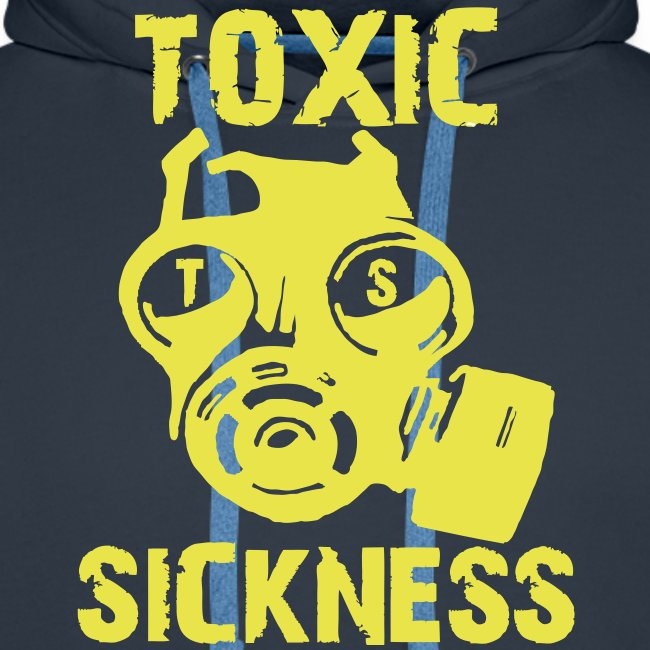 TOXIC SICKNESS ORIGINAL RETRO DESIGN