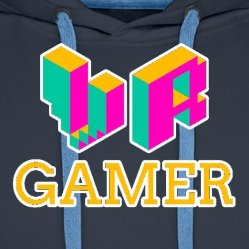 VR Gamer - Virtual Reality Gamer Logo - Männer Premium Hoodie
