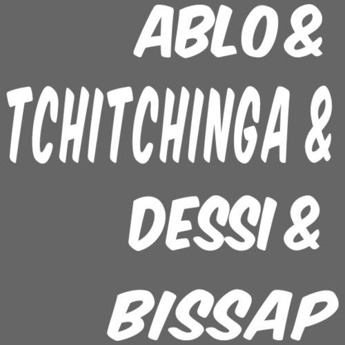 ABLO TCHINTCHINGA DESSI BISSAP - Sweat-shirt à capuche Premium pour hommes