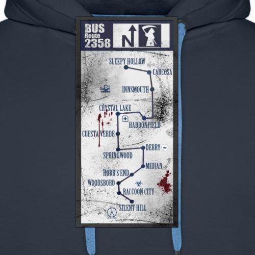 Dead line - Sudadera con capucha premium para hombre