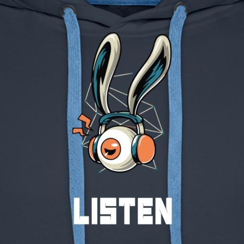 Luister naar de muziek - Mannen Premium hoodie