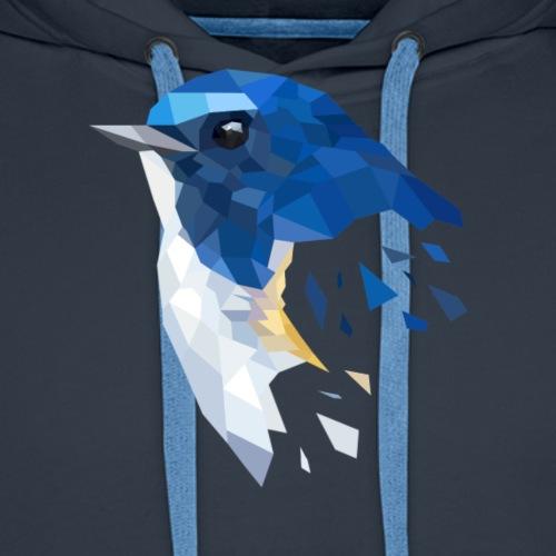 Geometric Bird - Männer Premium Hoodie
