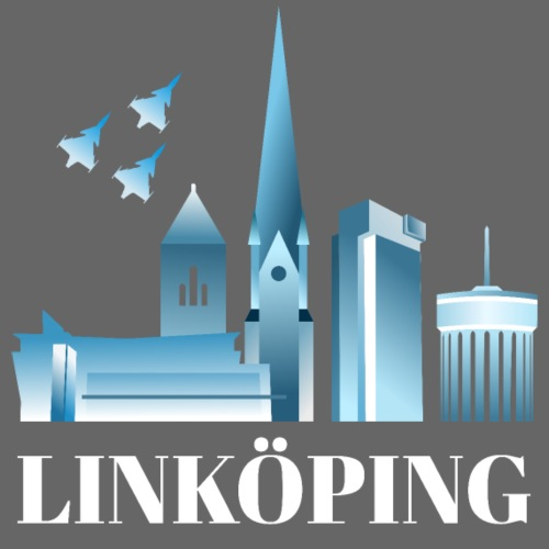 Linköping skyline - Premiumluvtröja herr