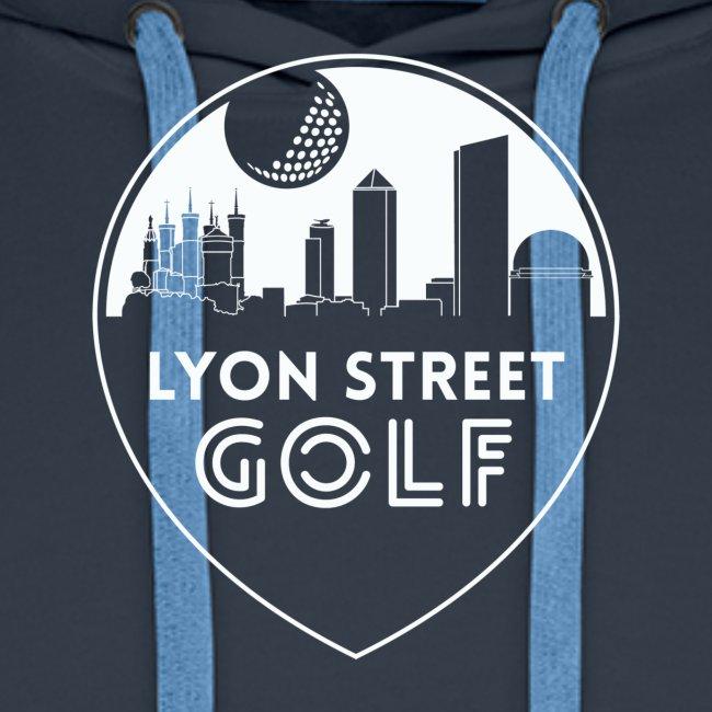 LOGO LYON STREET GOLF BLANC