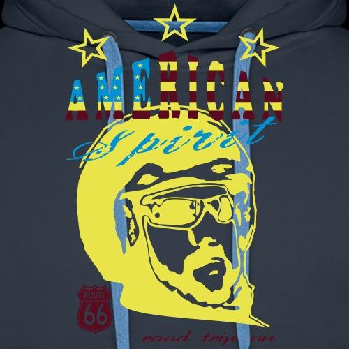 American Biker 2 - Männer Premium Hoodie