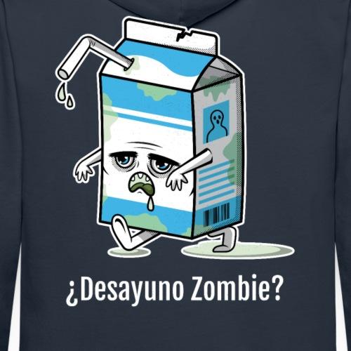 Desayuno Zombie | Brick de Halloween - Sudadera con capucha premium para hombre