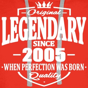 Legendary since 2005 - Sweat-shirt à capuche Premium pour hommes