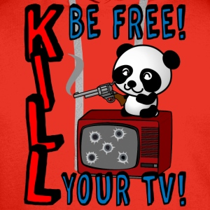 Kill your TV - Men's Premium Hoodie