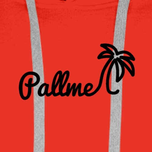 Pallme logo - Männer Premium Hoodie