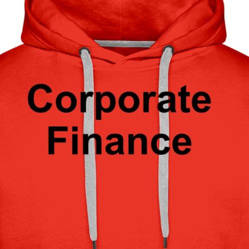 Corporate Finance - Männer Premium Hoodie