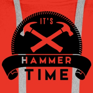 Zimmermann: It's Hammer Time - Men's Premium Hoodie
