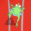 Sei kein Frosch - Männer Premium Hoodie