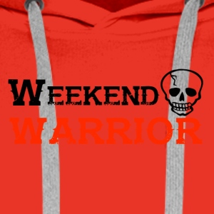Shirt Weekend Warrior Weekend Party - Men's Premium Hoodie