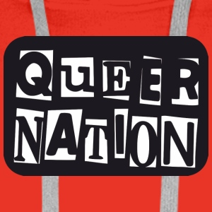 Queer Nation - Men's Premium Hoodie