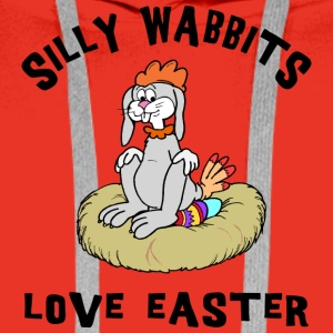 Easter Silly Wabbits Love Easter - Men's Premium Hoodie