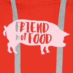 Veggie / Vegan: Friend not Food - Männer Premium Hoodie
