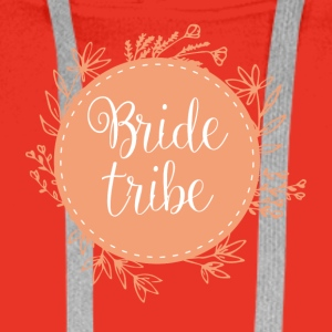 JGA / Bachelor: Bride Tribe - Premium hettegenser for menn