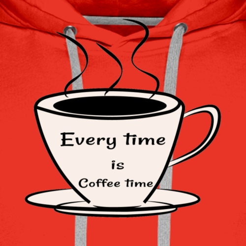 kaffe - Premiumluvtröja herr