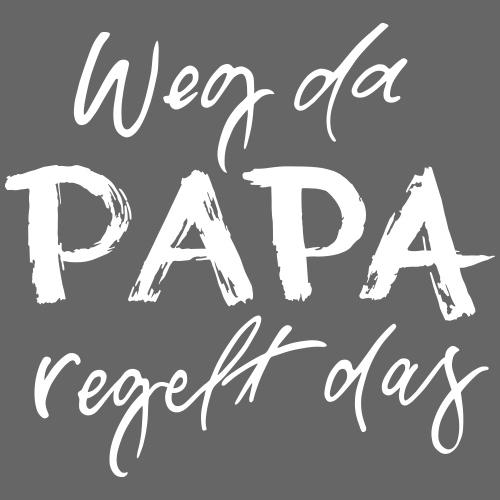 Papa regelt das - Männer Premium Hoodie