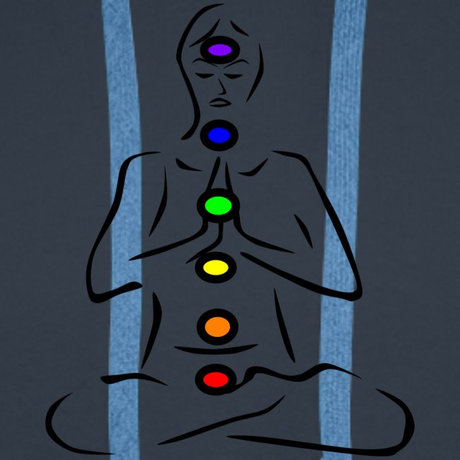 chakras illustrated