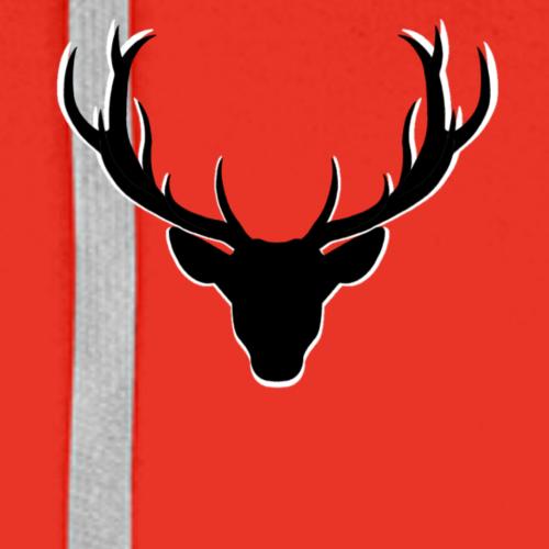 Deer - Sweat-shirt à capuche Premium pour hommes