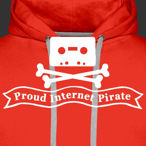 Proud Internet Pirate - Premiumluvtröja herr