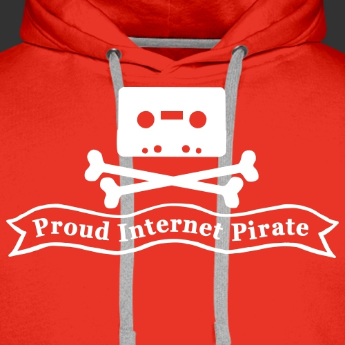 Proud Internet Pirate - Premiumluvtröja herr