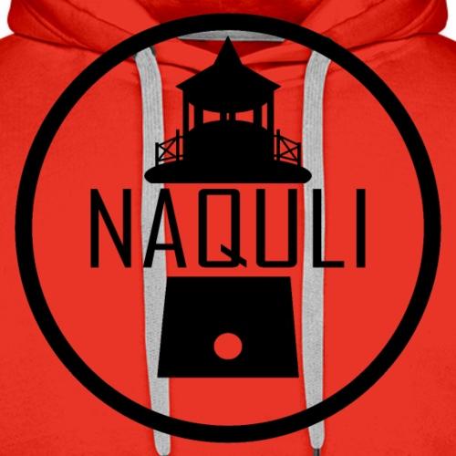 Schwarzes NAQULI Logo - Männer Premium Hoodie